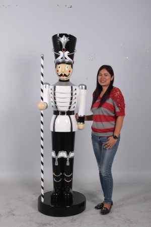 Toy Soldier with Baton 6.5ft (JR 140006WSB)