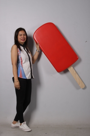 ICE CREAM POPSICLE HANGING - STRAWBERRY JR 180223S