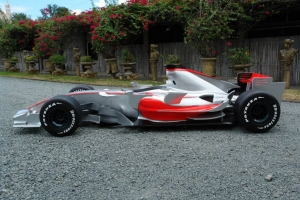 McClaren style F1 Formula Race Car JR FHMC  The Jolly Roger