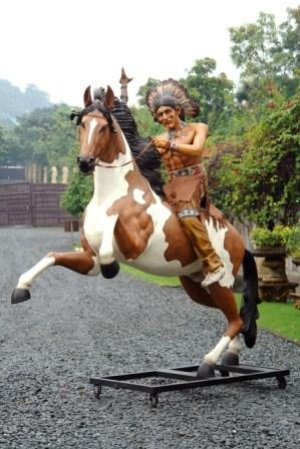 How To Draw A Indian On A Horse