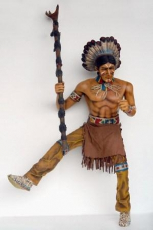Indian Warrior Chief for Horse (JR 2572)