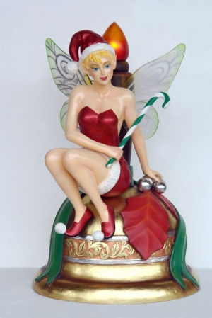 Fairy Sitting on Bell 5ft (JR 2740)