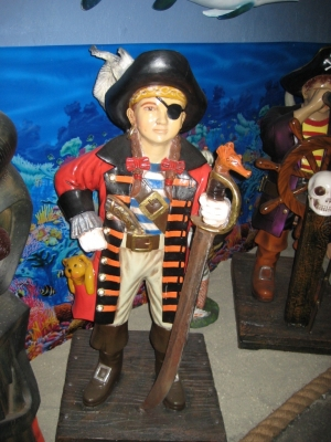 Pirate Girl 4ft (JR 2470)