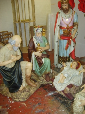 Full Nativity Set 6ft (JR NAT6)