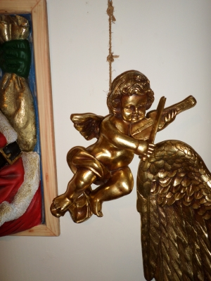Angel hanging with Violin (JR 315-A)