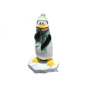FUNNY PENGUIN THINKING WITH SNOW BASE - JR C-210