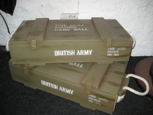 Crate Box for model Hand Grenades - British Army (JR 2183B)