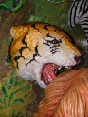 Tiger Head - Furry (JR 2107)