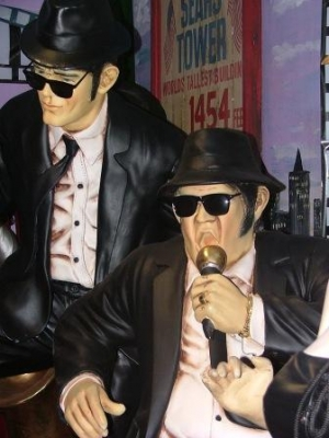 Blues Brothers life-size pair (JR 745)