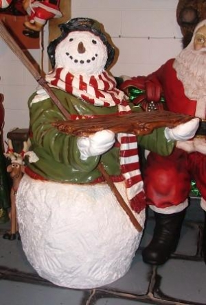 Snowman 4.9ft with Tray (JR CCSNO)