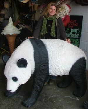 Panda Walking life-size (JR 2551)
