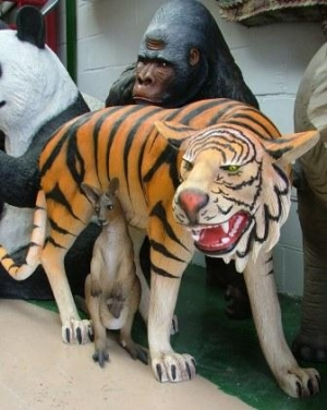 Tiger life-size (JR 1856 A/B)