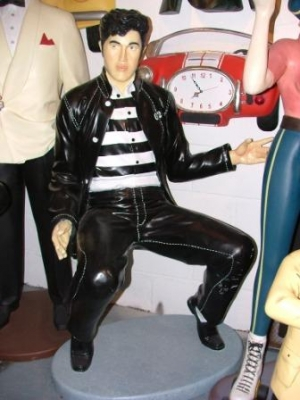 Elvis style Singer - Jail House Rock Life-size (JR ST6632)