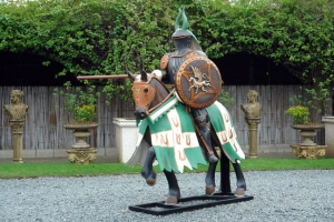 Green Knight on Horse (JR-DY020)