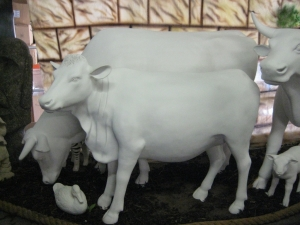 Guernsey Cow in Primer (JR 120003P)