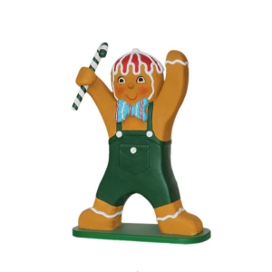 Ginger Bread Boy with Candy Cane 4ft (JR 3127)