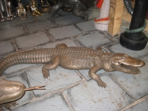 American Alligator in Bronze (JR 080142B)