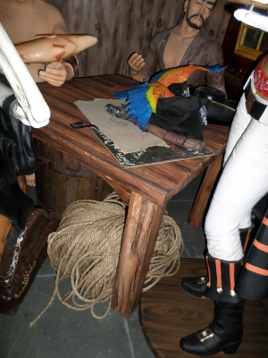 Pirate Table - Wood Effect (JR R-086)