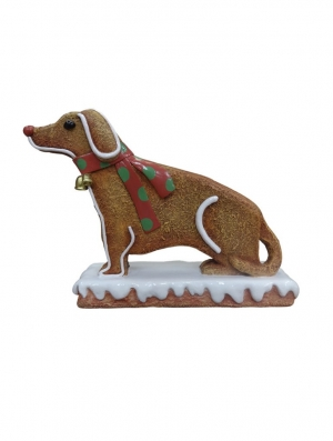 Mini Ginger Bread Dog (JR S-098)