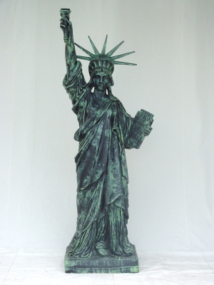 statue of liberty jr 357 the jolly roger life size 3d models