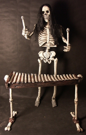 Skeleton Band - Xylobone Player 5.5ft (JR CA149 )