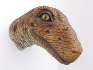 Raptor Baby Head Jr 2305 The Jolly Roger Life Size