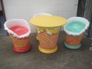 Merveilleux Ice Cream Furniture Set (JR MAX003)   Thumbnail 01 ...