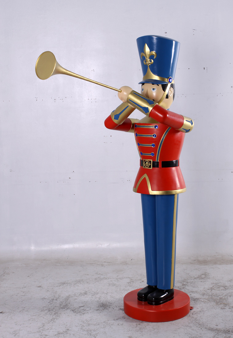 Toy Soldier with Trumpet 6ft (JR 140007) - The Jolly Roger - Life