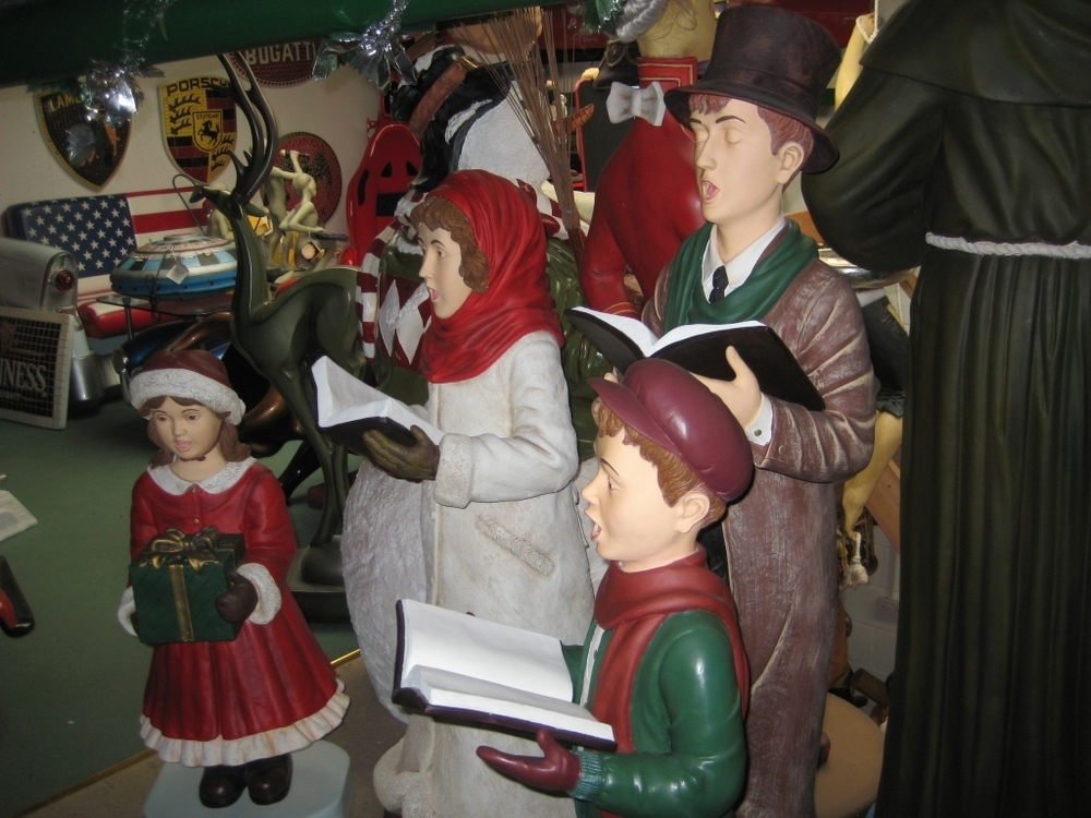 Carolers Jr Cn0015 18 The Jolly Roger Life Size 3d