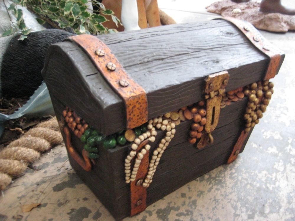 NEW FOR 2012. X marks the spot on this 3D model of a Treasure Chest ...