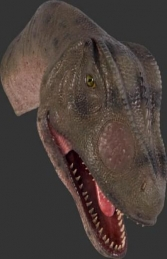 Allosaurus Head Looking Straight (JR 100052) - Thumbnail 02