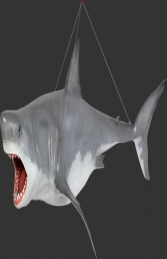 Shark Great White 12ft - Hanging (JR 100073) - Thumbnail 01