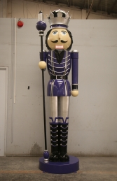Nutcracker 12ft with sceptre - Right Hand (JR 130091PS)