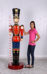 Toy Soldier with Baton 6.5ft (JR 140006B)  - Thumbnail 01