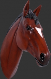Horse Head - Brown (JR 150090br)