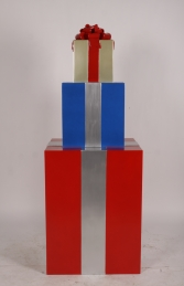 JR 150405RBG GIFT STACK RED, BLUE AND GOLD