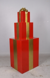JR 150405RG GIFT STACK RED AND GOLD
