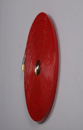 "FIRE HOSE WALL DECOR 24"" DIAMETER JR 190021 - Thumbnail 02"