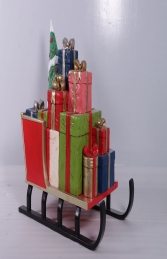 SLEIGH WITH GIFTS JR 200174