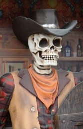 Saloon Bar Skeleton Cowboy (JR 2522) - Thumbnail 03
