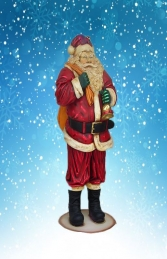 Father Christmas/Santa Claus Figure 4ft (JR 865)