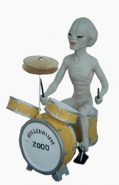 Alien Encounter - Drummer 2ft (JR 1552) - Thumbnail 01