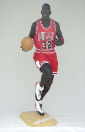 American Basketball Player Life-size (JR 1620)  - Thumbnail 01