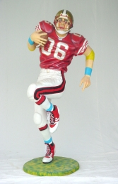 American Football Player Lifesize (JR 1619)