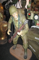 American Soldier 3ft (JR 1732) - Thumbnail 03