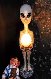 Alien Lamp Holder (JR 867) - Thumbnail 03