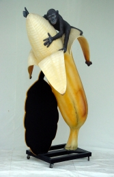 Banana with Monkey and with Black-board 6ft (JR 1437) - Thumbnail 02