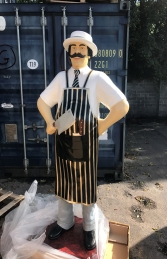 Butcher 6ft Black and Gold (JR 100117BG)