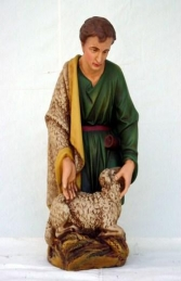 Boy Shepherd with Sheep 2ft (JR 1831)