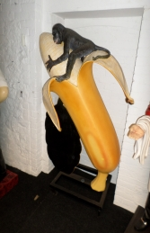 Banana with Monkey and with Black-board 6ft (JR 1437) - Thumbnail 03